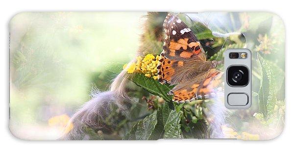 Butterfly Dog Galaxy Case