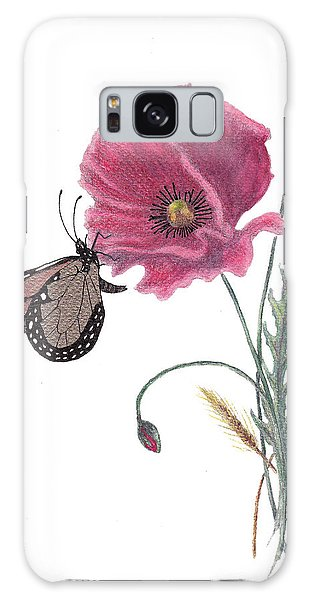 Butterfly Dreaming Galaxy Case