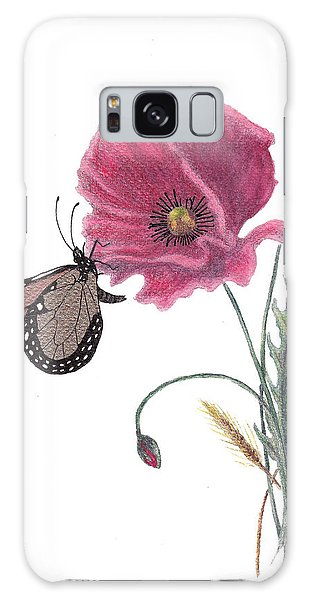 Butterfly Dreaming Galaxy Case by Stanza Widen