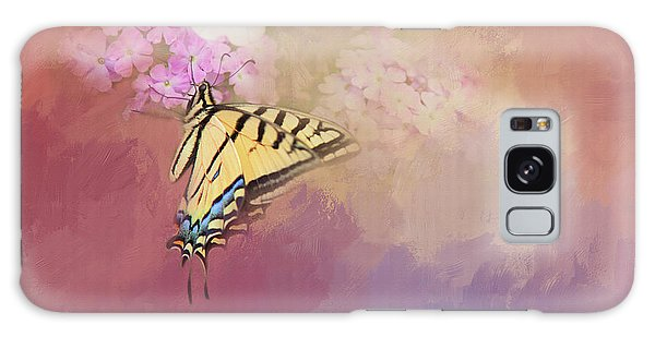 Butterfly Dreams Galaxy Case by Theresa Tahara