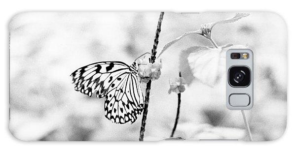 Butterfly Eatting  Galaxy Case
