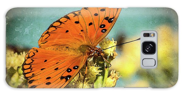 Butterfly Enjoying The Nectar Galaxy Case by Scott and Dixie Wiley