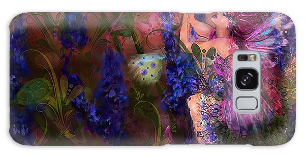 Butterfly Fairy Galaxy Case by Kari Nanstad