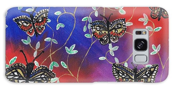 Butterfly Family Tree Galaxy Case