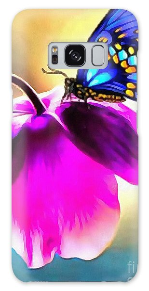 Butterfly Floral Galaxy Case