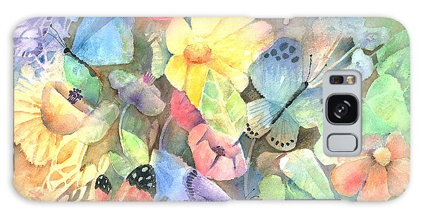 Butterfly Garden Galaxy Case