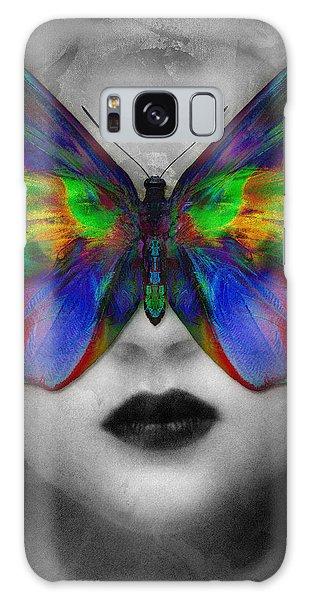 Butterfly Girl Galaxy Case