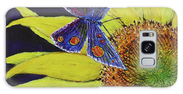 Butterfly Haven Galaxy Case