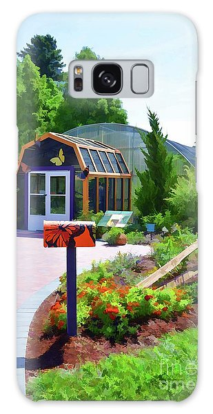 Butterfly House 1 Galaxy Case