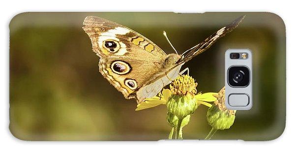 Butterfly In Bokeh Galaxy Case by Steven Parker