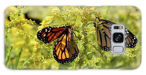 Butterfly In Fall  Galaxy Case
