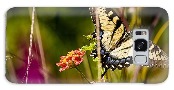 Butterfly Jungle Galaxy Case