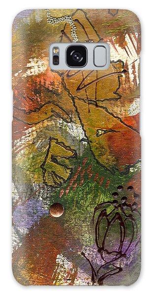 Butterfly Kisses Galaxy Case by Angela L Walker