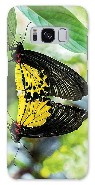 Butterfly Mating Galaxy Case