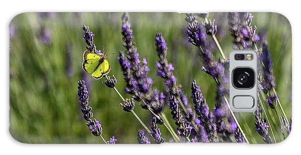 Butterfly N Lavender Galaxy Case
