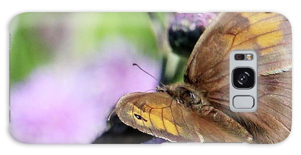 Butterfly Photograph  Galaxy Case