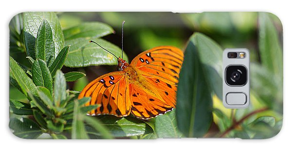Butterfly On A Sunny Day Galaxy Case