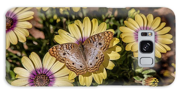 Butterfly On Blossoms Galaxy Case