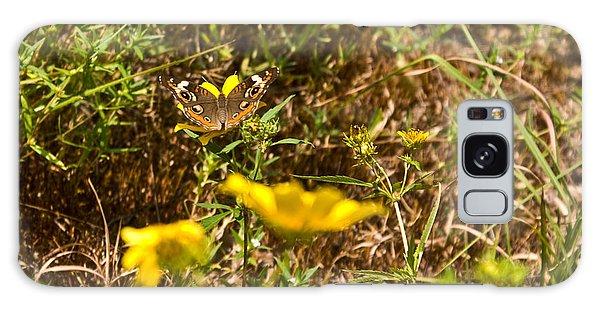 Crossville Galaxy S8 Case - Butterfly On Flower by Douglas Barnett