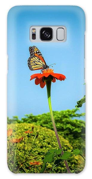 Butterfly Perch Galaxy Case