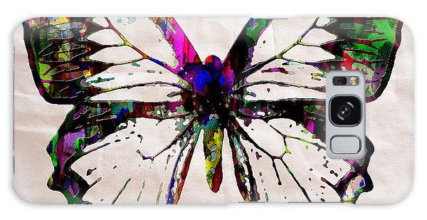 Butterfly Rainbow Galaxy Case