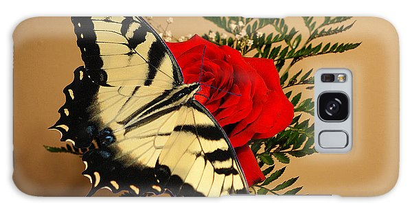 Butterfly Rose Galaxy Case by Rick Friedle