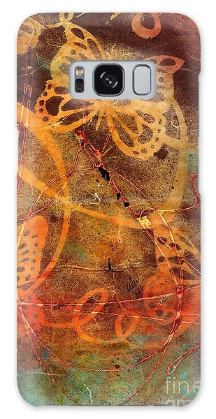 Butterfly Sun Dance Galaxy Case