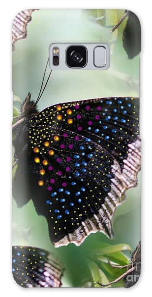 Butterfly Sunbath #2 Galaxy Case