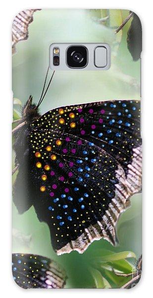 Butterfly Sunbath #2 Galaxy Case