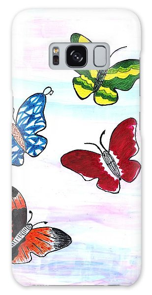 Butterfly Tag Galaxy Case