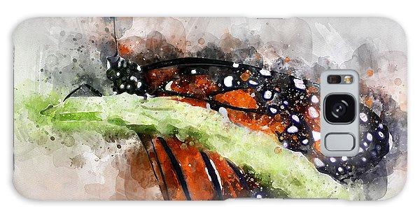Butterfly Watercolor Galaxy Case