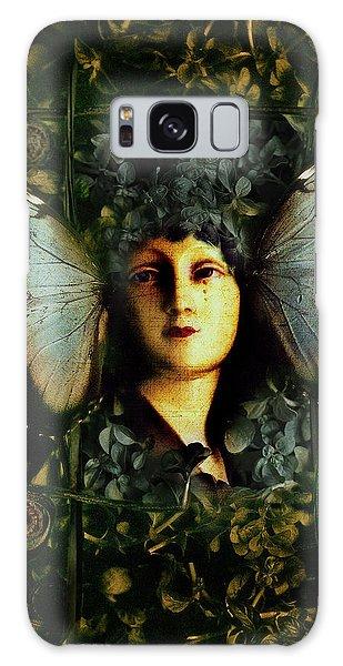 Butterfly Woman Galaxy Case