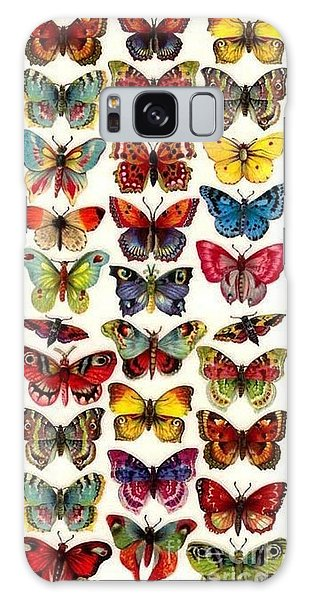 Butterflys Galaxy Case by Pg Reproductions