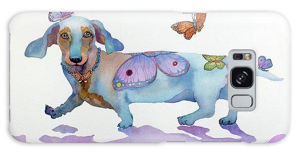 Butterfly Doxie Doo Galaxy Case