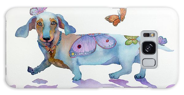 Butterfly Doxie Doo Galaxy Case