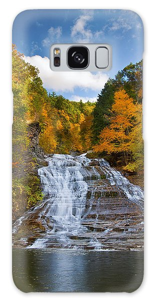 Buttermilk Falls 2 Galaxy Case