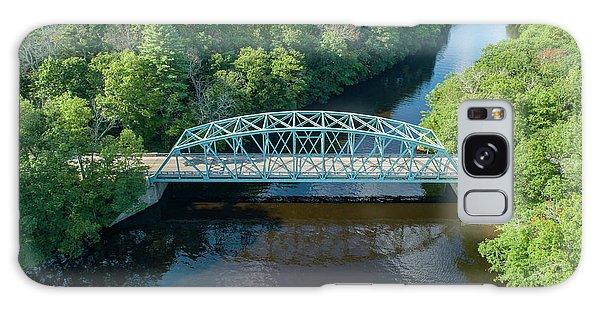 Butts Bridge Summertime Galaxy Case