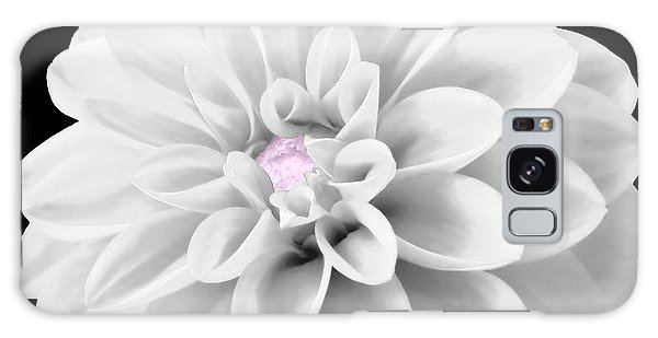 Bw Dahlia And Touch Of Pink Galaxy Case
