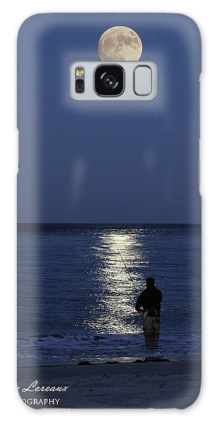 By The Light Of The Supermoon Galaxy Case