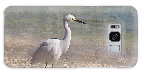 Egret Galaxy Case - By The Sea by Kim Hojnacki