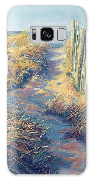 Scenery Galaxy Case - By The Sea by Lucie Bilodeau