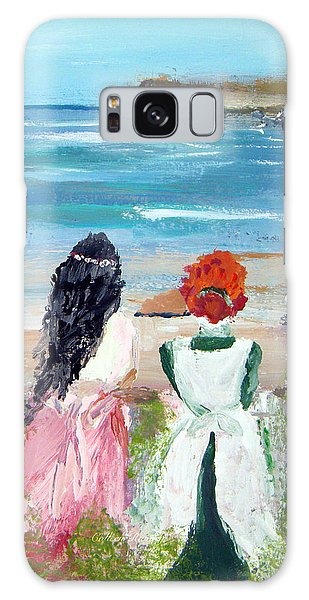 By The Shores By Colleen Ranney Galaxy Case