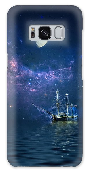 By Way Of The Moon And Stars Galaxy Case