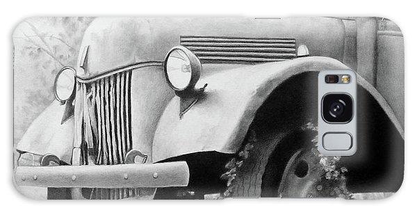 Old Truck Galaxy Case - Bygone Era by Becky West