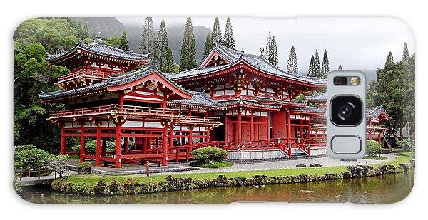 Byodo-in Temple Oahu Galaxy Case