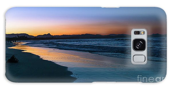 Byron Bay After The Sun Sets Galaxy Case