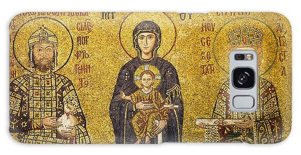 Byzantine Mosaic In Hagia Sophia Galaxy Case