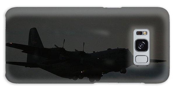 C130 Hercules Night Flight Galaxy Case