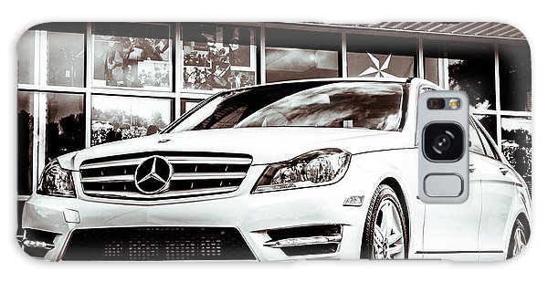 C250 In Black And White Galaxy Case