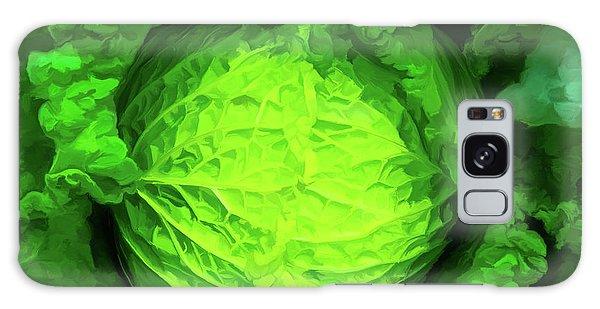 Cabbage 02 Galaxy Case by Wally Hampton